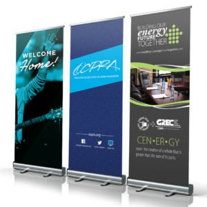 Retractable Banner Stand Kits